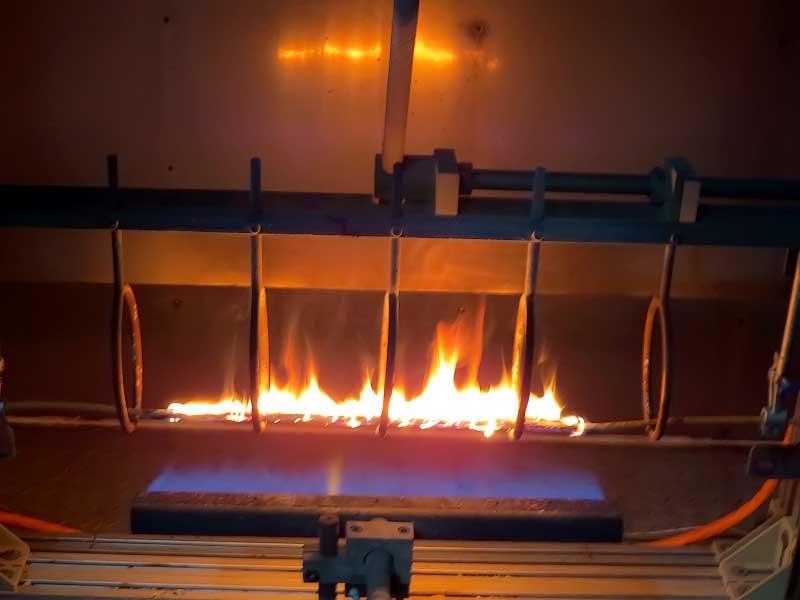 Испытания огнестойкой кабельной продукции