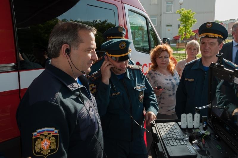Координация действий сотрудников во время чрезвычайной ситуации