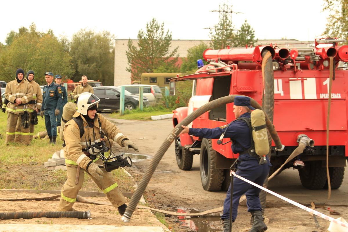 Формирование боеготовности пожарных посредством учебных действий