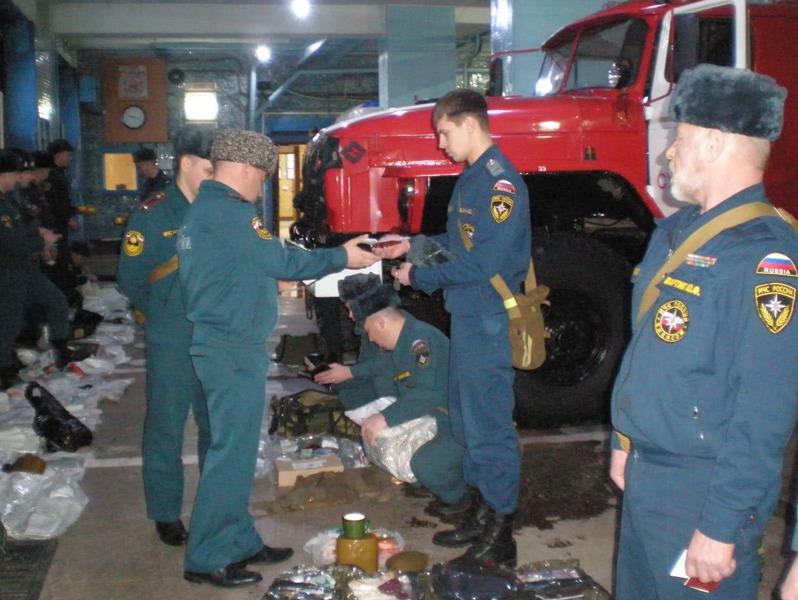 Неплановая проверка состояния пожарных