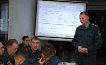 Сбор начальников гарнизонов ПЧ территориального уровня