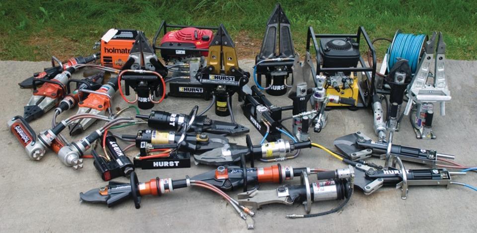 Аварийно спасательное оборудование и пожарный инструмент