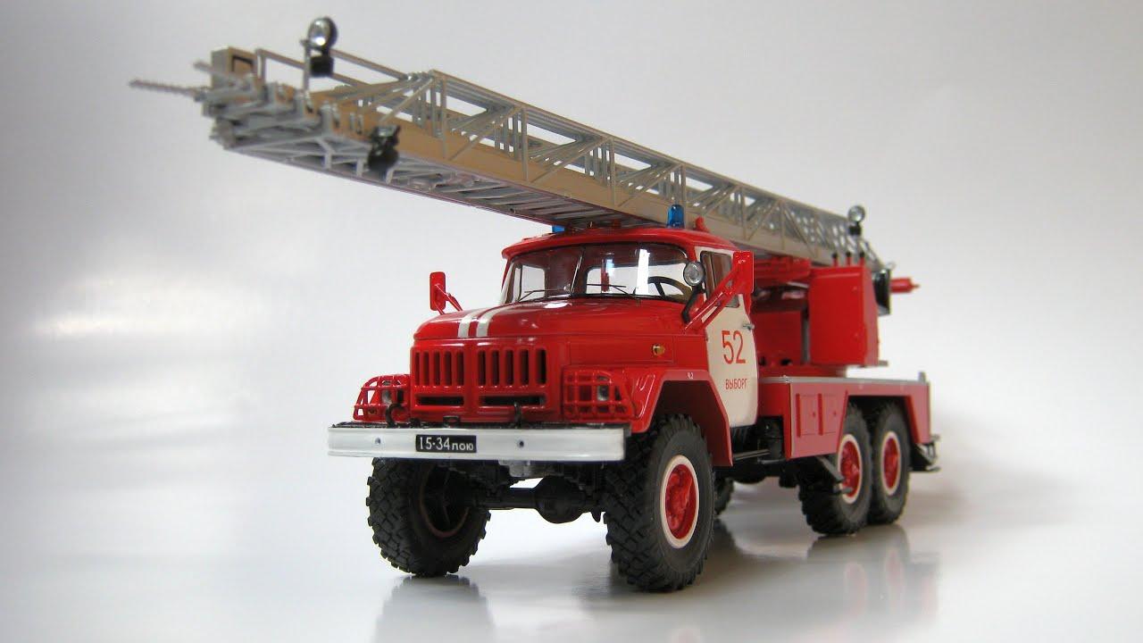 Пожарная автолестница марки АЛ 30