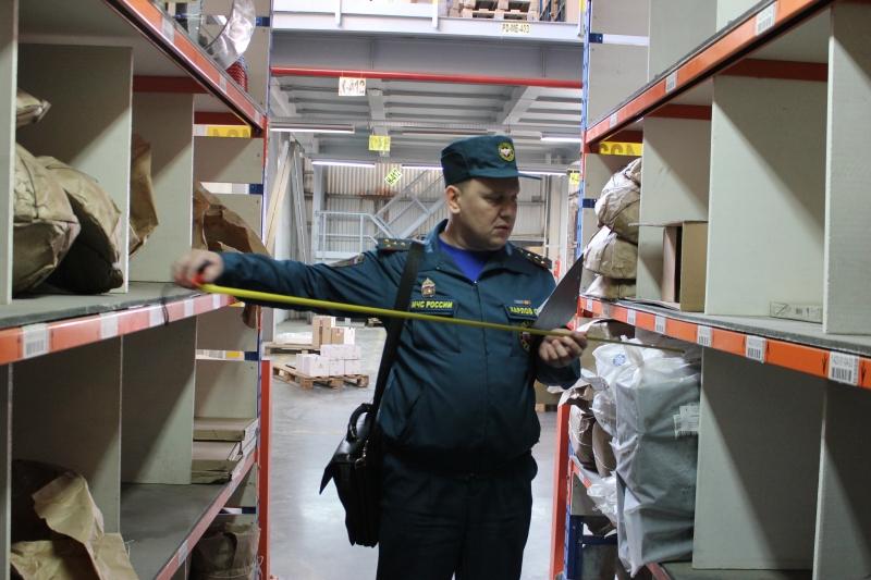 Проверка складского терминала