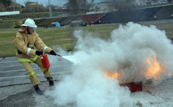 Учения пожарной охраны