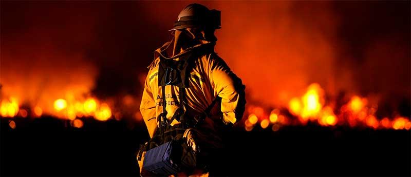 Ночные пожарные ученья