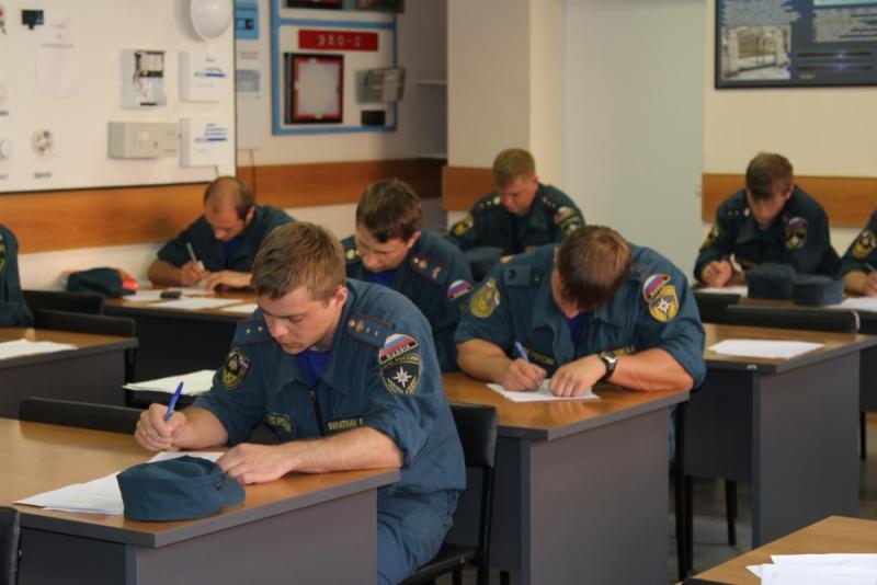 Противопожарное обучение в профилированных учебных заведениях