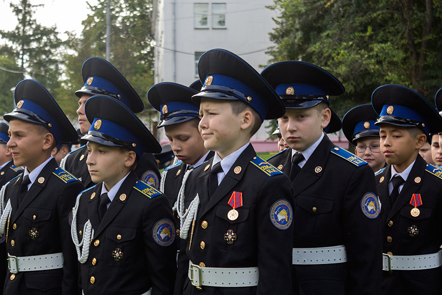 Ученики кадетского корпуса