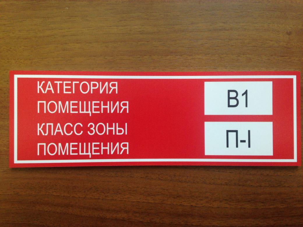 Табличка на двери – важный знак для пожарных