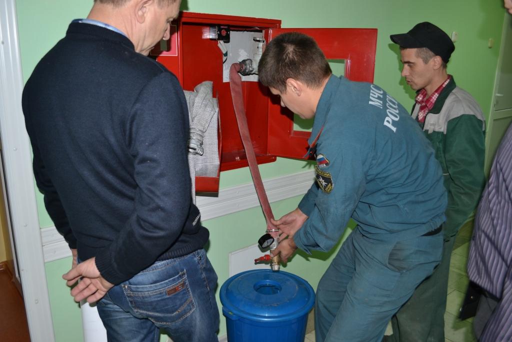 Комиссия по проверке пожарного водопровода на водоотдачу