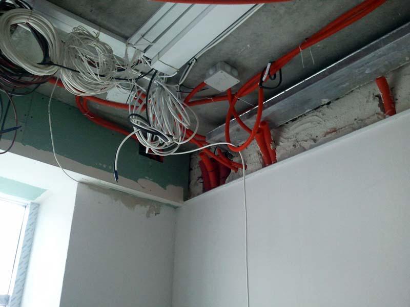 Выбор типа кабеля производится с учетом назначения здания