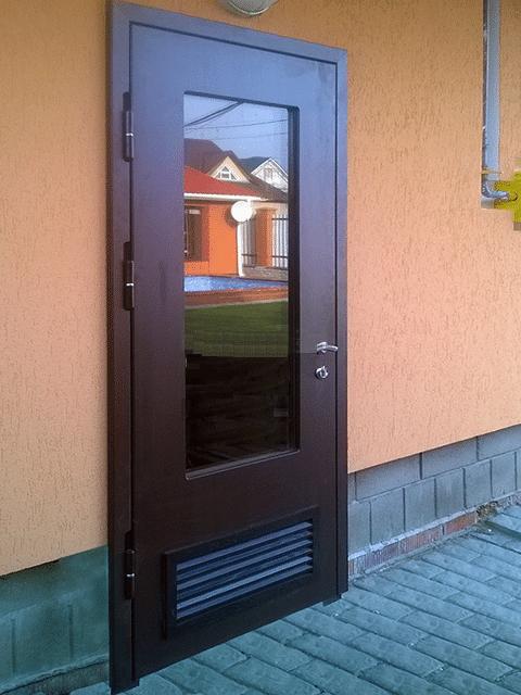 Двери в котельных должны открываться только наружу