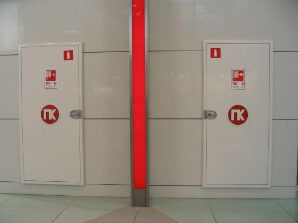 Место установки пожарного крана выбирается строго по правилам