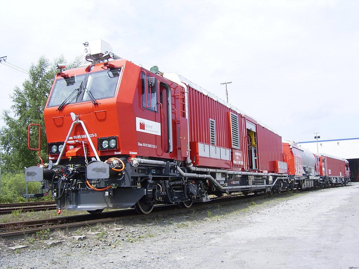 Пожарный поезд Германия