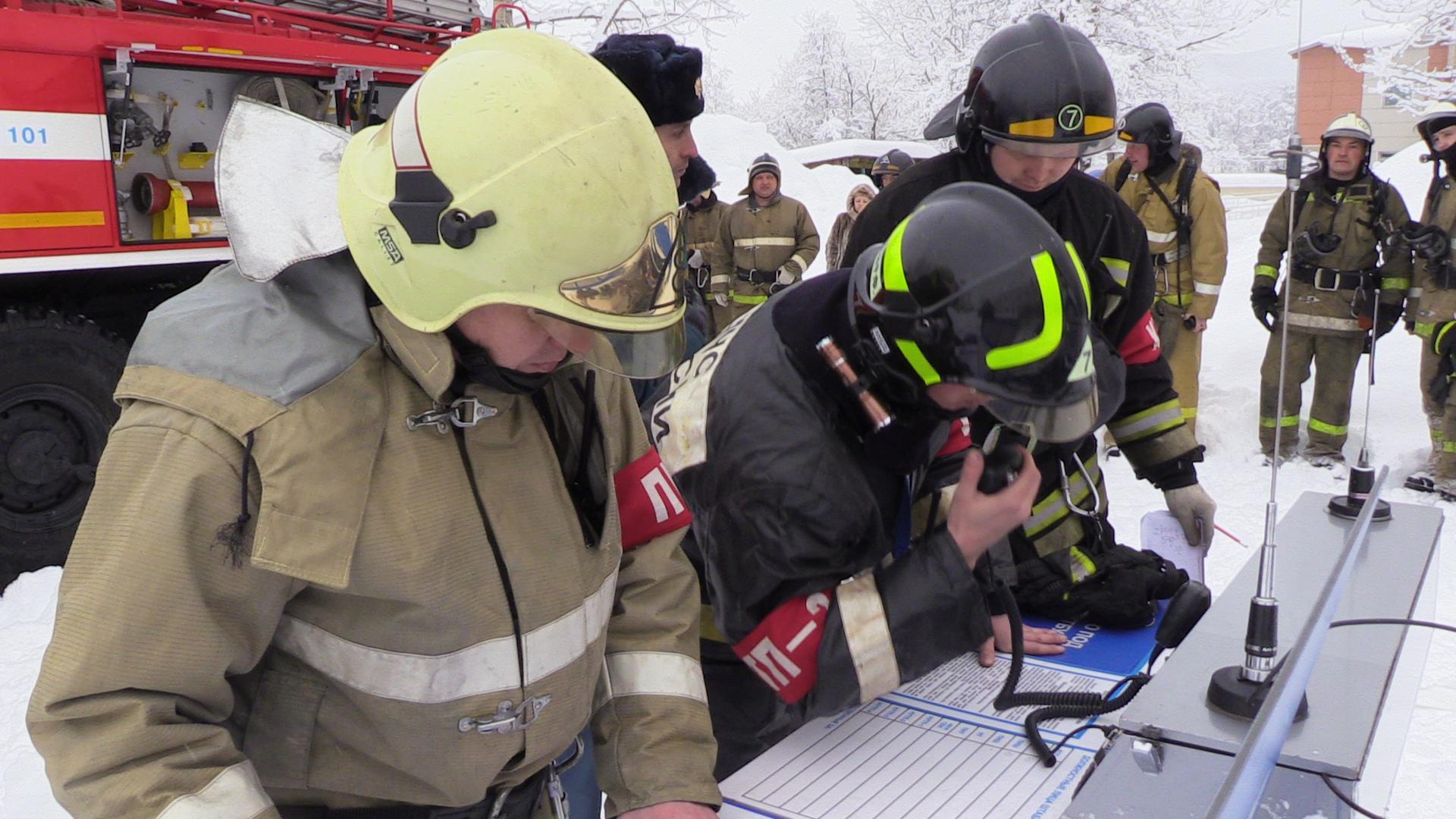 Начальник штаба – главный руководитель на пожаре