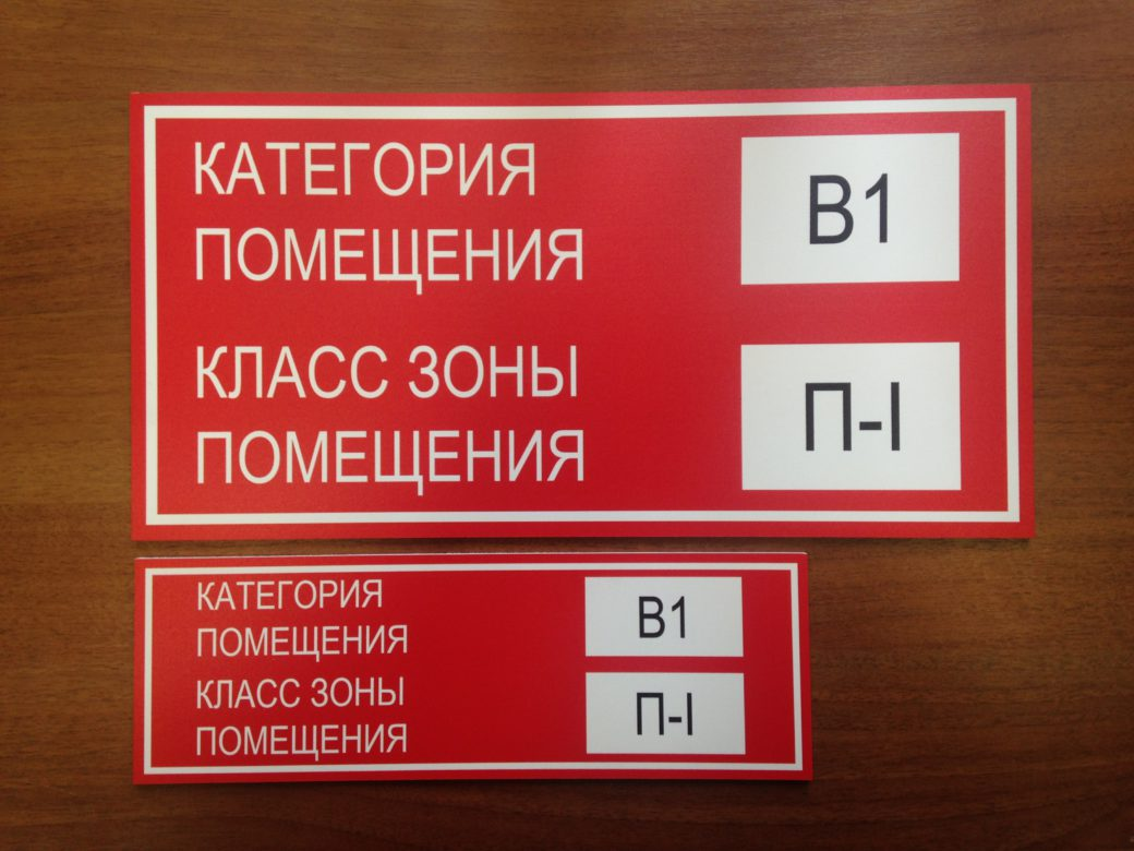 Таблички на дверях