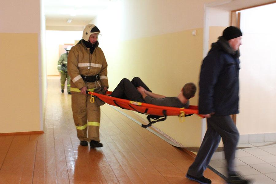 Учения по эвакуации при пожаре