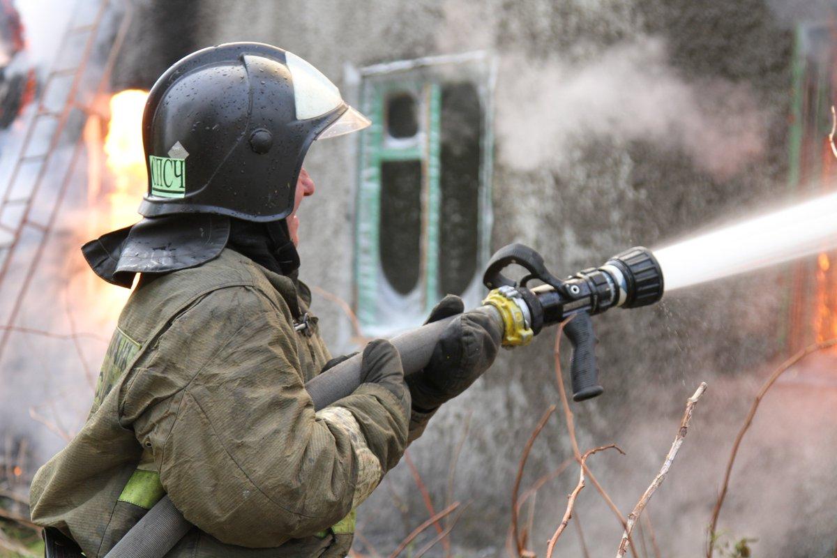 Ствольщик на пожаре